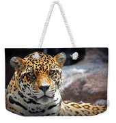 The Ole Leopard Don't Change His Spots Weekender Tote Bag