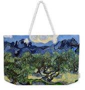 The Olive Tree Weekender Tote Bag