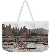 The Olympic Torch Leaves Hampton Court On The Final Leg Of Its J Weekender Tote Bag
