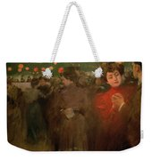 The Open Air Party Weekender Tote Bag by Ramon Casas i Carbo