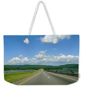 The Open Highway Weekender Tote Bag