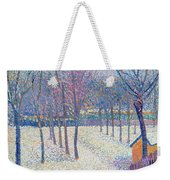 The Orchard Under The Snow  Weekender Tote Bag by Hippolyte Petitjean