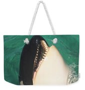 The Original Shamu Orca Whale At Sea World San Diego California 1967 Weekender Tote Bag