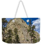 The Other Side Of Devils Tower Weekender Tote Bag