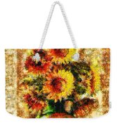 The Other Sunflowers Weekender Tote Bag