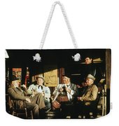 The Over The Hill Gang  Johnny Cash Porch Old Tucson Arizona 1971 Weekender Tote Bag