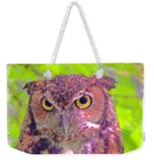 The Owl... Weekender Tote Bag