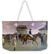 The Owner S Enclosure Newmarket Weekender Tote Bag by Isaac Cullen