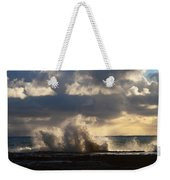 The Pacific Calms Down Weekender Tote Bag