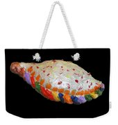 The Painted Calzone Weekender Tote Bag