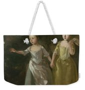 The Painter's Daughters Chasing A Butterfly Weekender Tote Bag