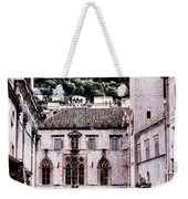 The Palace And The Tower Weekender Tote Bag