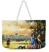 The Palace Of The Tuileries Weekender Tote Bag by Andrew Howat