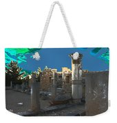 The Palaestra -temple Of Apollo Weekender Tote Bag
