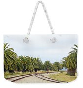 The Palms By The Tracks Weekender Tote Bag