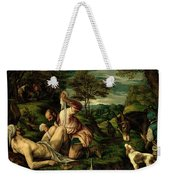 The Parable Of The Good Samaritan Weekender Tote Bag