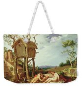 The Parable Of The Wheat And The Tares Weekender Tote Bag