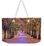 The Park In Autumn Weekender Tote Bag