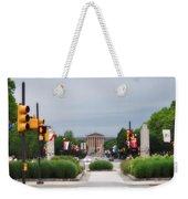 The Parkway And Art Museum Weekender Tote Bag