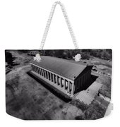 The Parthenon In Black And White Weekender Tote Bag by Dan Sproul