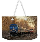 The Passing Siding Weekender Tote Bag