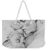 Passion Of The Kiss Weekender Tote Bag