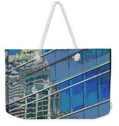 The Past Reflecting On The Present Weekender Tote Bag