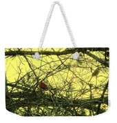 The Patch Up Weekender Tote Bag