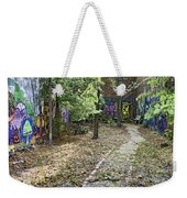 The Path Of Graffiti Weekender Tote Bag by Jason Politte