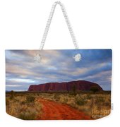 The Path To Red Weekender Tote Bag