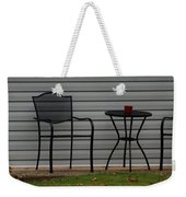 The Patio In Living Color Weekender Tote Bag