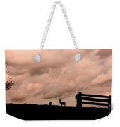 Nature The Peace Of Dusk Weekender Tote Bag