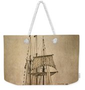 The Peacemaker Weekender Tote Bag by Dale Kincaid