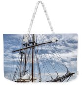 The Peacemaker Tall Ship Weekender Tote Bag by Dale Kincaid