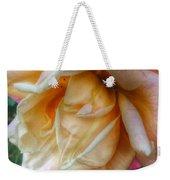 The Peach Rose Weekender Tote Bag