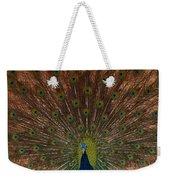 The Peacock 2 Weekender Tote Bag