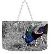 The Peacock Weekender Tote Bag