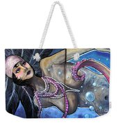The Pearl Mermaid Weekender Tote Bag