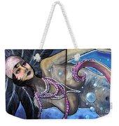 The Pearl Mermaid Weekender Tote Bag