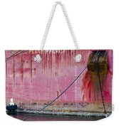 The Peggy Palmer Barge Weekender Tote Bag