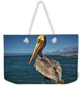 The Pelican Of Oceanside Pier Weekender Tote Bag