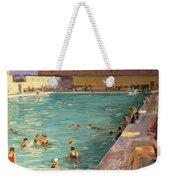 The Peoples Pool, Palm Beach, 1927 Weekender Tote Bag