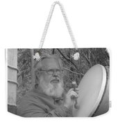 The Percussionist And  Storyteller Weekender Tote Bag