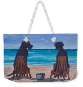 The Perfect Beach Day Weekender Tote Bag