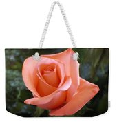 The Perfect Coral Rose Weekender Tote Bag