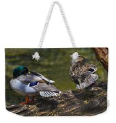 The Perfect Mallard Couple Weekender Tote Bag