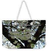 The Perfumed Cherry Tree 2 Weekender Tote Bag