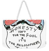 The Philosophers Tool Weekender Tote Bag