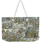 The Physic Garden, 1531 Weekender Tote Bag