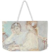 The Piano Weekender Tote Bag